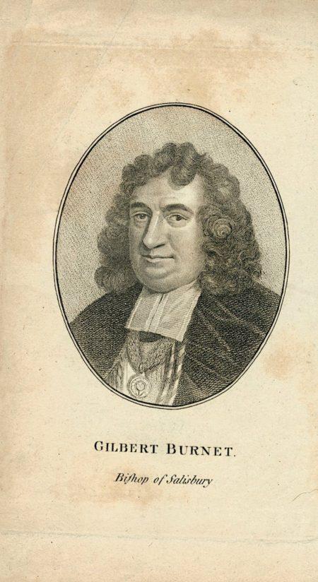 Antique Engraving Print, Gilbert Burnet, 1810 ca.