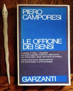 Piero Camporesi, Le officine dei sensi, Garzanti, 1985