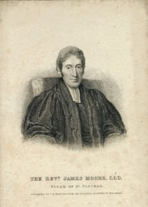 The Rev.d. James Moore, LLD, Vicar of St. Pancras, 1824