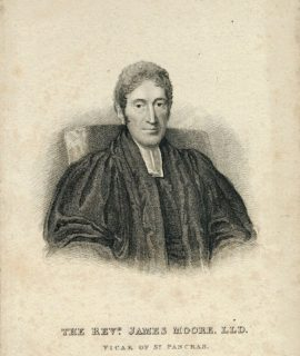The Rev.d. James Moore, LLD, Vicar of St. Pancras, 1824