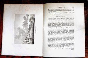 3 Antique Engravings Prints, Suffolk, 1785