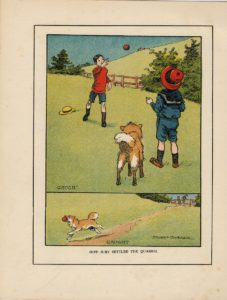 Rare Vintage Print, How Juby Settled the Quarrel, by Stuart Barker, 1917