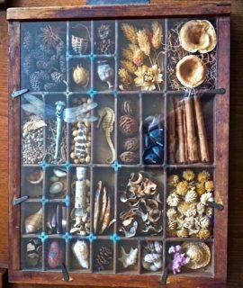 Antique Handmade Victorian Small Cabinet