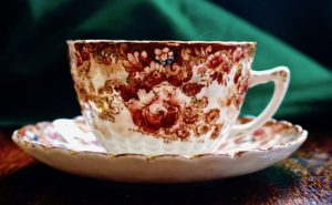 Antique Fenton England Samuel Radford Tea Cup, 1880
