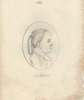 Antique Engraving Print, N. Stoberin, 1790 ca.
