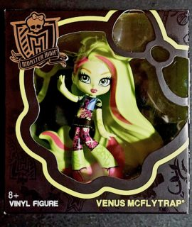 "Monster Hight, ""Venus Mc Flytrap, Vinyl Figure, 2014"