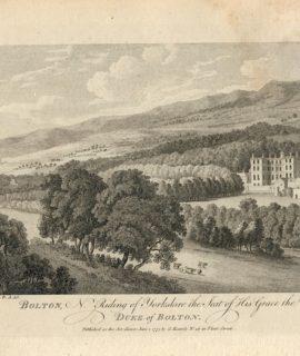 Antique Engraving Print, Duke of Bolton, 1775