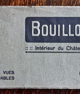 Bouillon, Interieur du Château, 11 cartes vues detachables, 1910-20