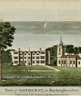 View of Gothurst in Buckinghamshire, 1786