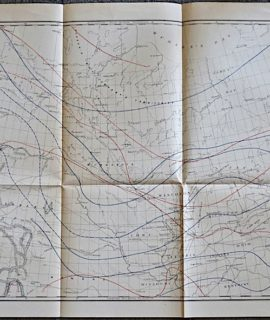 Isothermal Chart, Atlantic & Pacific Ocean compiled by Isaac I. Stevens, 1859