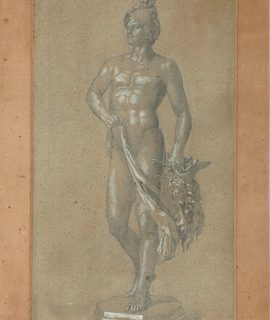 Pencil Drawing, Perseus, 1900