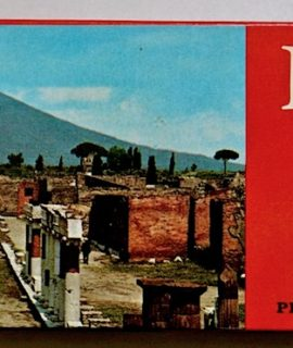 Vintage Pompei Souvenir 60 Slides, printed from Kodak negative film