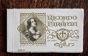 Ricordo di Firenze, Galleria Uffizi, 1910-20