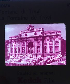 Vintage Kodak Souvenir of Roma, 60 slides, 35 mm.