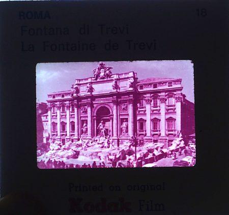 Vintage Kodak Souvenir of Roma, 60 slides, 35 mm.