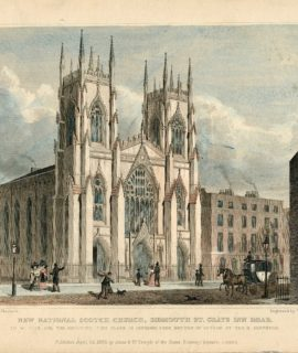 New National Scotch Church, Sidmouth St. Grays Inn Road, 1829