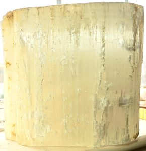 Very Large Antique Selenite Block
