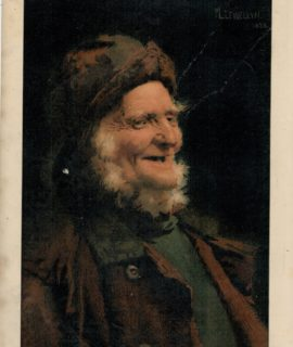 Antique Print, A Jolly Old Tar, 1890