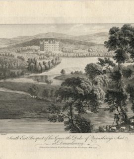 South East Prospect of this Grace the Duke of Qucensberry's Seat at Drumlanrig, 1775
