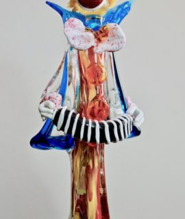 Vintage original Murano Glass Clown, 38 cm., 1950