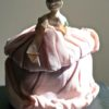 Vintage Porcelain Half Doll Pin Cushion, 1920