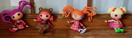 4 Collectable Lalaloopsy Large Doll