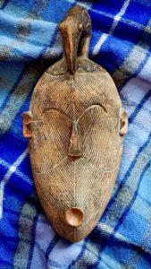 Antique Handmade African Tribal Mask