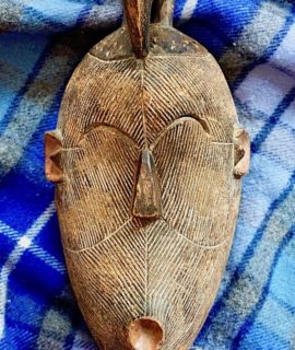 Antique Handmade African Tribal Mask