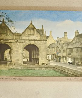 Vintage Print, Chipping Campden, 1890-1900 ca.