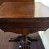 Antique Deco English Oak Coffee Table 1920