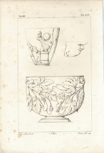 Antique Engraving Print, Beccalli, TA. XLV, 1835