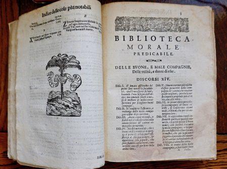 Biblioteca Morale Predicabile opera di Gioseppe Mansi, Tomo III, Venezia 1666