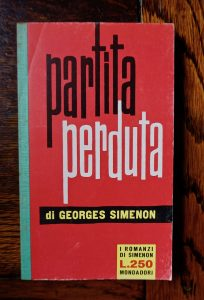 Georges Simenon, Partita perduta, I romanzi di Simenon, 1961