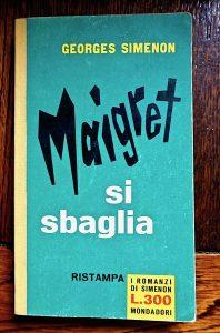 Georges Simenon, Maigret si sbaglia, I romanzi di Simenon, 1961