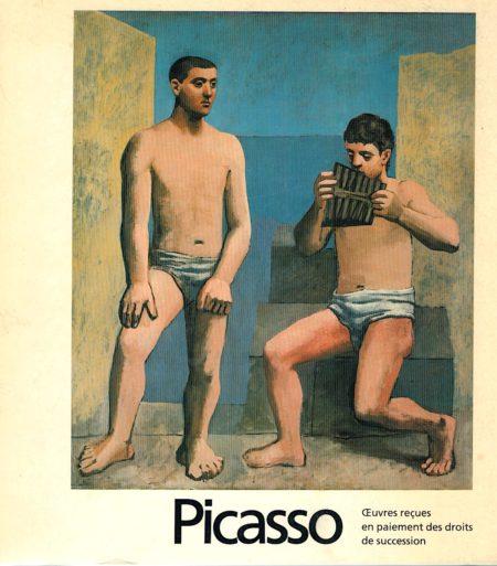 Picasso, oeuvres reçues en paiement ds droits de succession, SPADEM, 1979