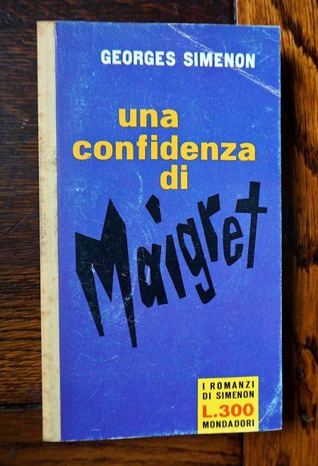 Georges Simenon, Una confidenza di Maigret, I romanzi di Simenon, 1961