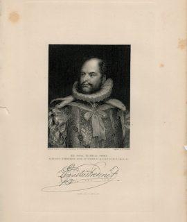 Antique Engraving Print, Augustus Frederick, Duke of Sussex, 1844