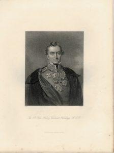 Antique Engraving Print, The R.t Hon. Henry Viscount Hardinge, 1840