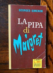 Georges Simenon, La pipa di Maigret, Biblioteca Economica Mondadori, Il Girasole, 1959