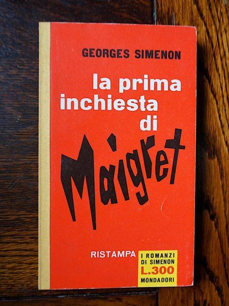 Georges Simenon, La prima inchiesta di Maigret, I Romanzi di Simenon, 1961