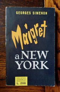 Georges Simenon, Maigret a New York, Biblioteca Economica Mondadori, 1956