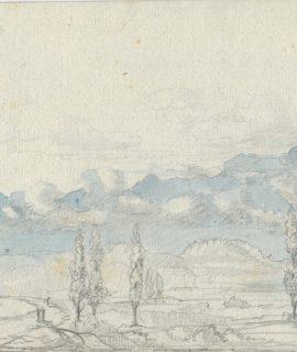 Antique Watercolor, 1804