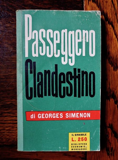 Georges Simenon, Passeggero Clandestino, Il Girasole, 1958