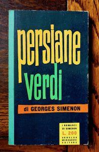 Georges Simenon, Persiane verdi, I Romanzi di Simenon, 1957