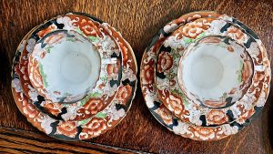Antique Park Place China Reid's England Tea set, 1913