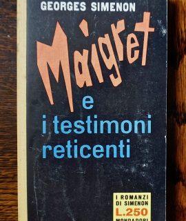 Georges Simenon, Maigret e i testimoni reticenti, I romanzi di Simenon, 1961