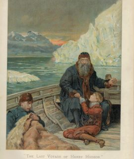 Vintage Print, The Last Voyage of Henry Hudson by John Collier, 1894