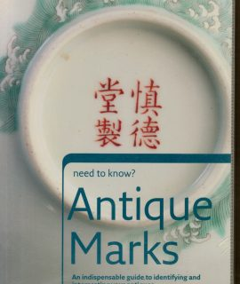 Need to Know? Antique Marks, Collins 2006