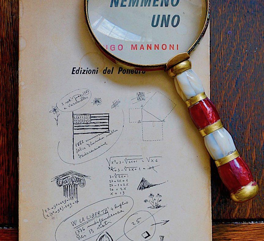 """""""Nemmeno uno"""" di Ugo Mannoni"""