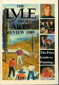 The Lyle Official Arts review 1989, Tony Curtis
